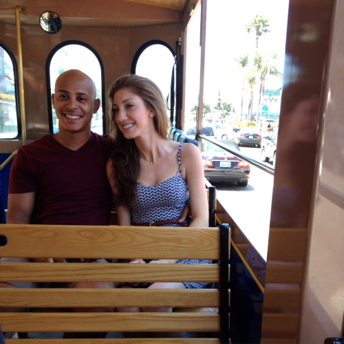 Laguna trolley