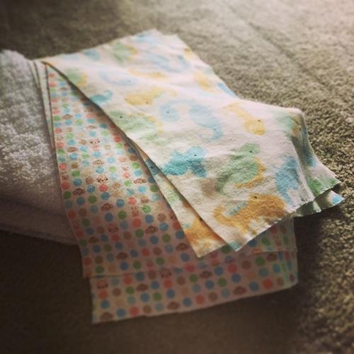 burp cloth fabric