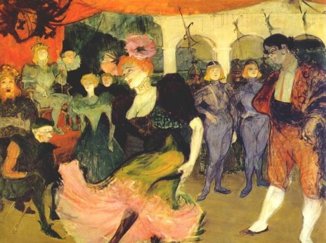 Lautrec, Marcelle Lender Dancing the Bolero in Chilperic